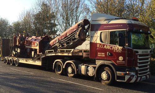 OUR FREIGHT haulage SERVICES